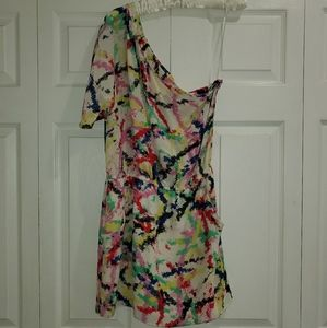 Aaron Ashe Silk Dress